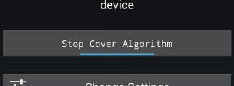 Cover Algorithm Intelligently Sleeps and Wakes Your Device
