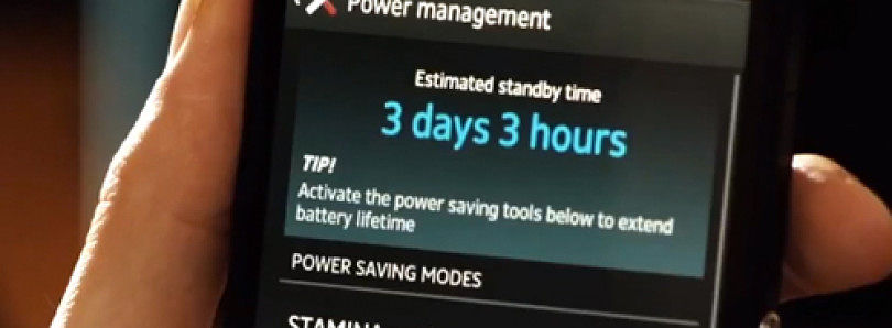 Xperia Z's Stamina Mode Ported to 2012 Xperia Devices