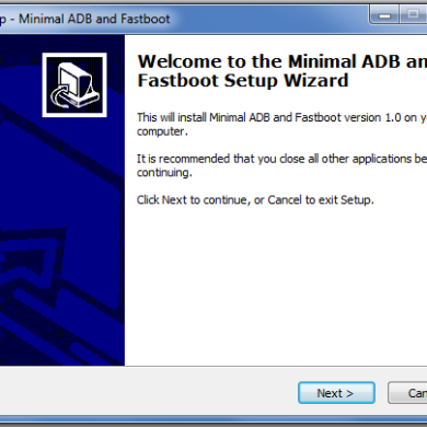 Lightweight ADB and Fastboot Installer