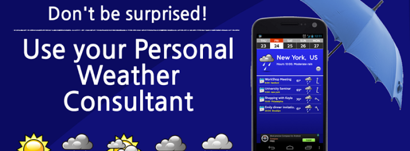 Never Let Weather Catch You Unprepared with Personal Weather Consultant