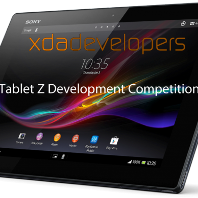 XDA Tablet Z Development Competition
