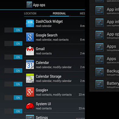App Ops Brings Granular Permissions Control to Android 4.3
