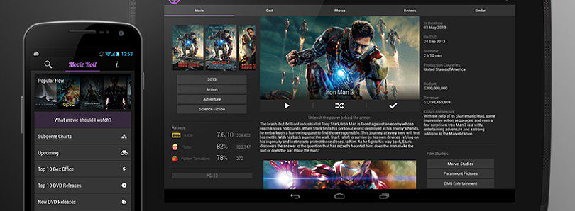 Find Info on Your Favorite Films with Movie Roll