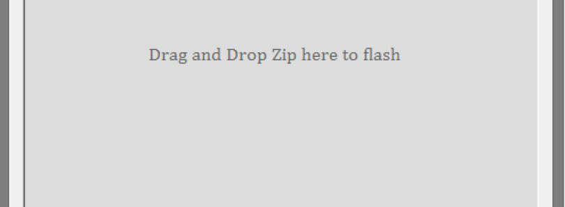 Flash Zip Files from Your PC with Desktop Flasher