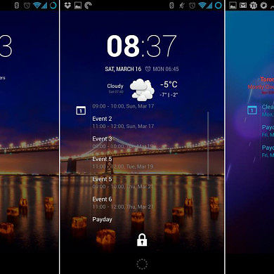 CyanogenMod cLock Available for All 4.2+ Devices