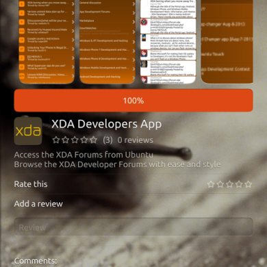Running Ubuntu Touch? Check out the Unofficial XDA App