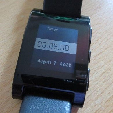 Add a Countdown Timer to Your Pebble Smartwatch