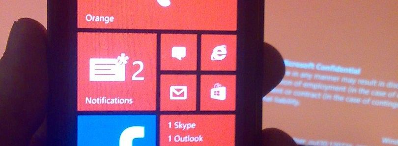 Potential Leaked Image of Windows Phone 8.1 Appears