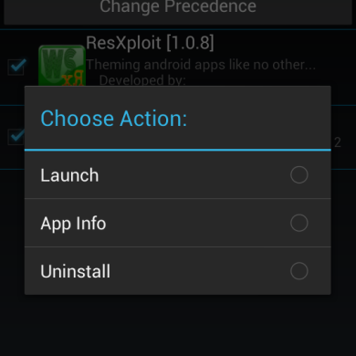Custom Xposed Installer Offers Additional Tweaking