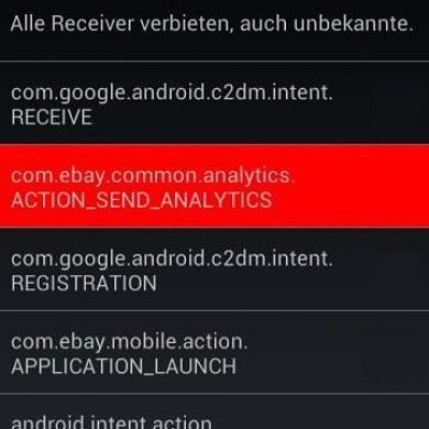 Block Android Intent Broadcasts with ReceiverStop for Xposed