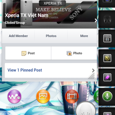 Run Multiple Small Apps on the Sony Xperia T and TX