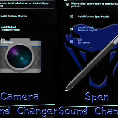 Customize S Pen and Camera Sounds on the Note II and 3