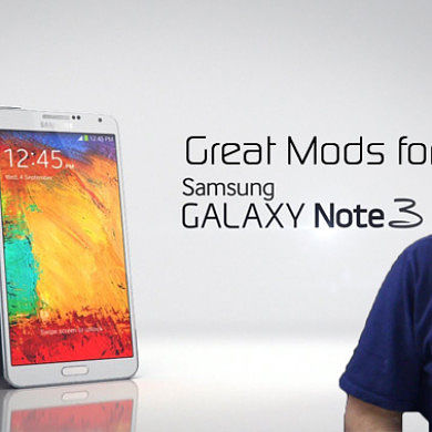 Great XDA Mods for Your Samsung Galaxy Note 3 – XDA Developer TV