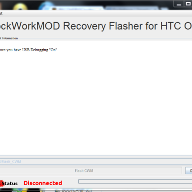 CASUAL-Based ClockworkMod Recovery Flasher for HTC One