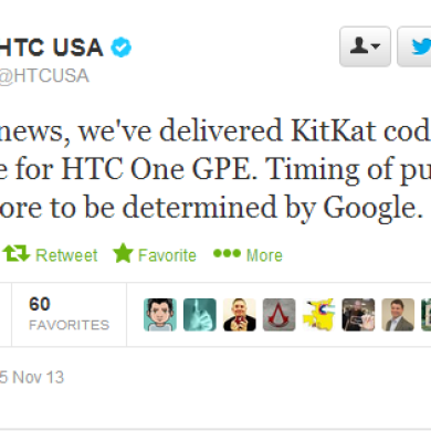 KitKat Coming Soon to the HTC One Google Play Edition