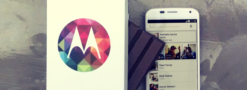 Sprint Moto X Finally Receiving Android 4.4 KitKat
