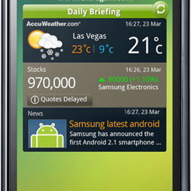 Dual Boot on the Samsung Galaxy S Plus