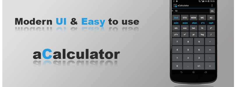 Crunch Numbers in Style with aCalculator