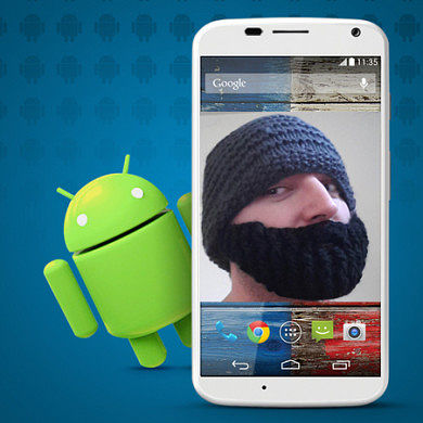 Jcase Roots Moto X Android 4.4 KitKat Update with SlapMyMoto