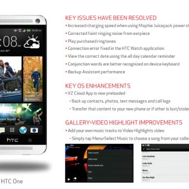 [OTA Captured] Verizon HTC One Now Receiving Android 4.3