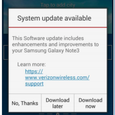 """Mandatory"" OTA for the Verizon Note 3 Brings Significant Bugfixes, More Bloat"