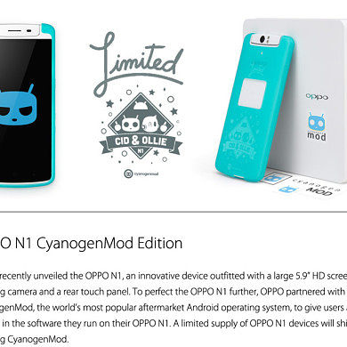 Oppo N1 CyanogenMod Edition, Factory Images, and Source Code Now Available