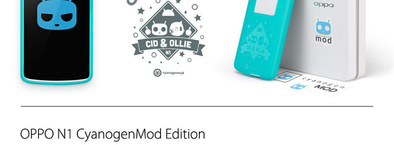 Official CyanogenMod Now Available for the Oppo N1 Standard Edition