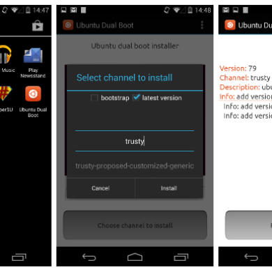 Developer Preview Lets You Dual Boot Ubuntu and Android