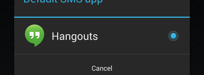 Write to SMS Content Provider in KitKat without Being Default SMS App