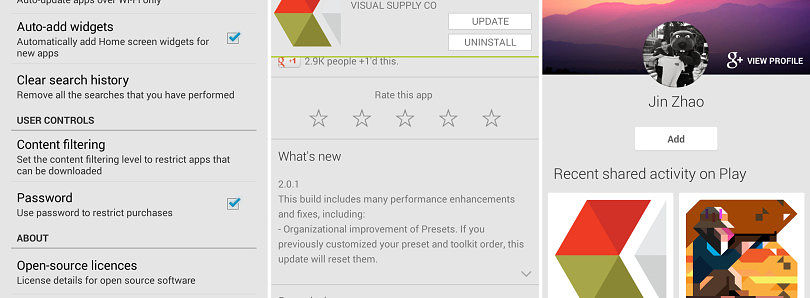 Play Store 4.5.10 Update Brings In-App Purchase Notices, Better Reviews, and G+ Integration