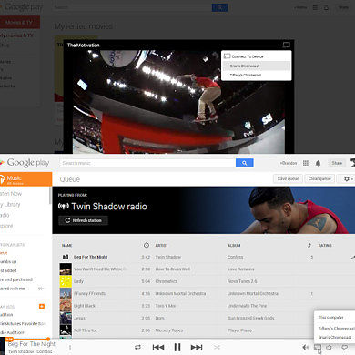 Chromecast Now Supports Google Play Music and Movies from the Web… It's About Time!