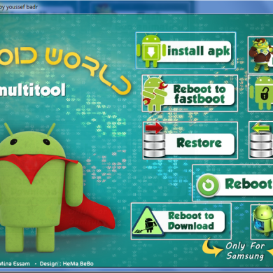 Android World Multitool Helps You with Common Android Tasks