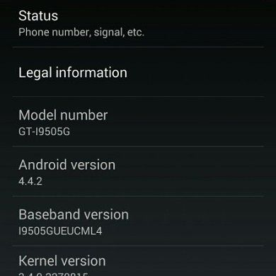 Android 4.4.2 KOT49H Now Rolling Out to the Samsung Galaxy S 4 Google Play Edition, OTA Captured!