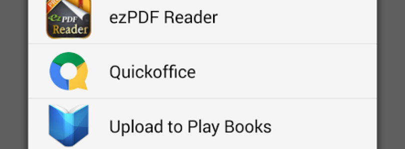 Massive Google Play Books 3.1.17 Update Brings PDF/EPUB Uploads, Increased Note Taking, and More