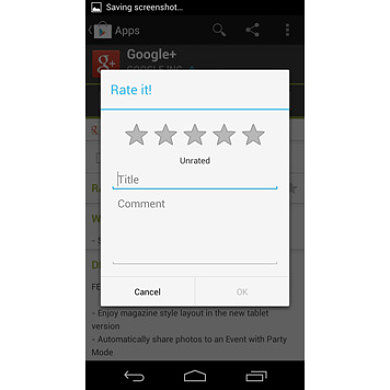 Easy Add a Rating Popup to Your Application