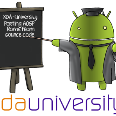 XDA University: How to Port AOSP ROMs from Source
