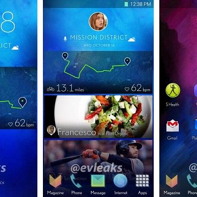 Leaked Screenshots Suggest Dramatic New Direction for Samsung's TouchWiz UI