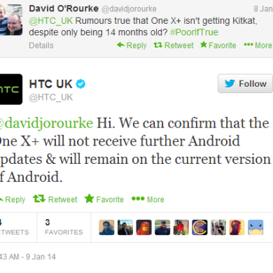 2012 HTC One X and One X+ Won't Receive KitKat—Seriously!?