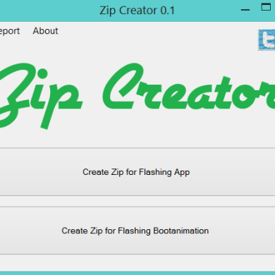 Easily Create Recovery Compatible Archives with Zip Creator