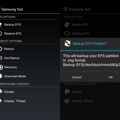 Backup Your EFS Partition with Easy to Use App
