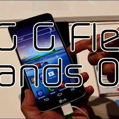 LG G Flex Hands On at CES 2014 – XDA Developer TV
