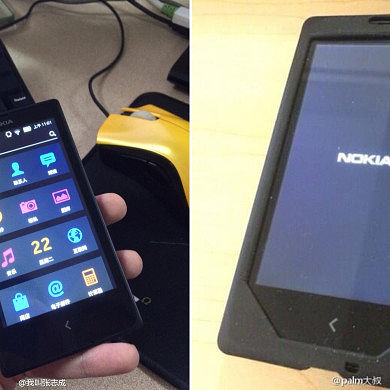 Nokia Normandy Allegedly Pictured in the Flesh and Powered On