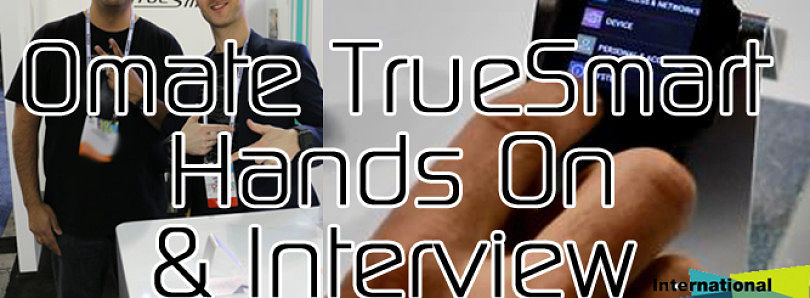 Omate TrueSmart Hands On and Interview with Laurent Le Pen at CES 2014 – XDA Developer TV