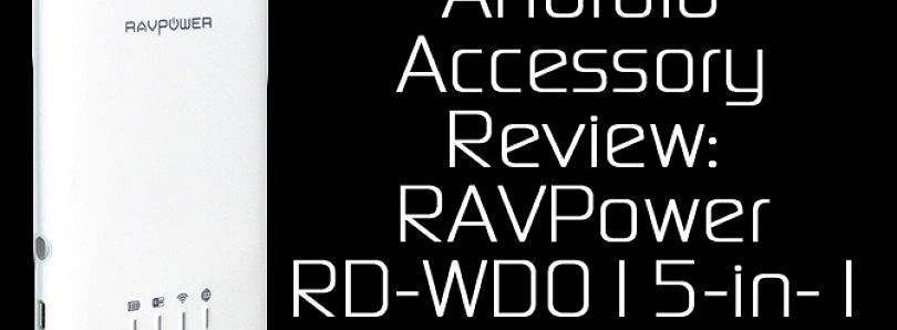 RAVPower RP-WD01 Wireless SD Card Reader, USB External HDD Reader 3000mAh External Battery & More! – XDA Developer TV
