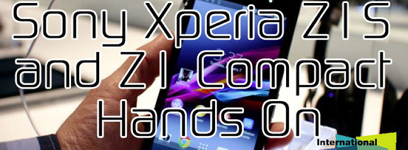 Sony Xperia Z1S and Z1 Compact Hands On at CES 2014 – XDA Developer TV