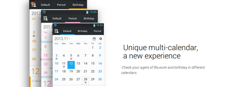 Schedule Your Time with a Modern Looking Calendar