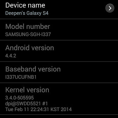 Android 4.4.2 for the AT&T Galaxy S 4 is Here, OTA Captured!