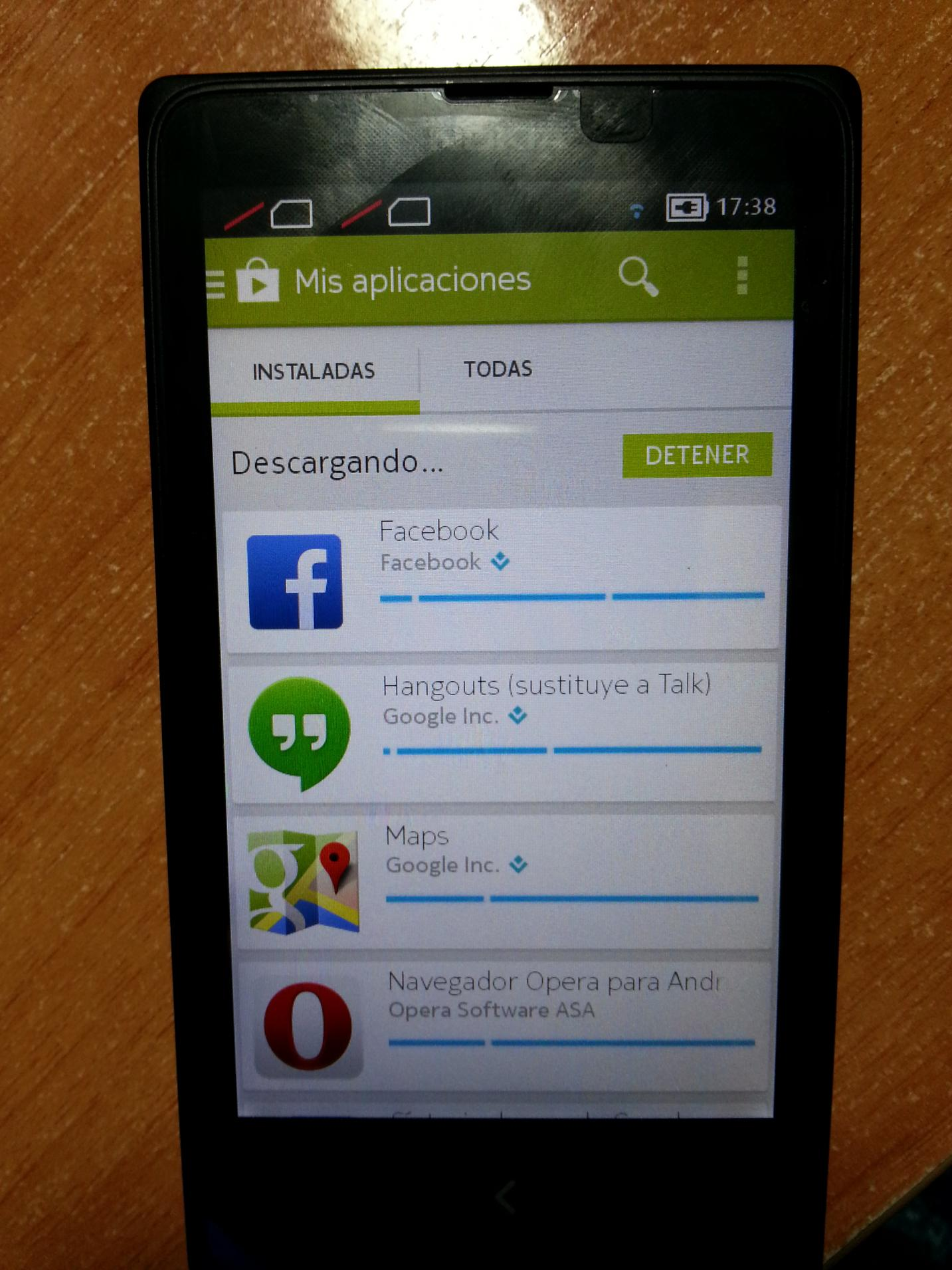 Nokia X Rooted You Can Use Google Apps and Play Store