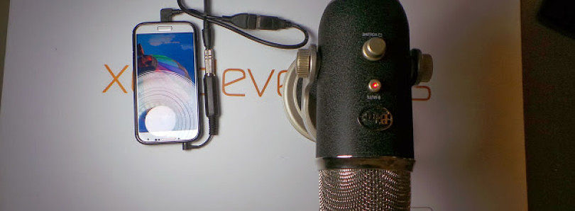 How to Attach an External Condenser Mic to Your Android Device