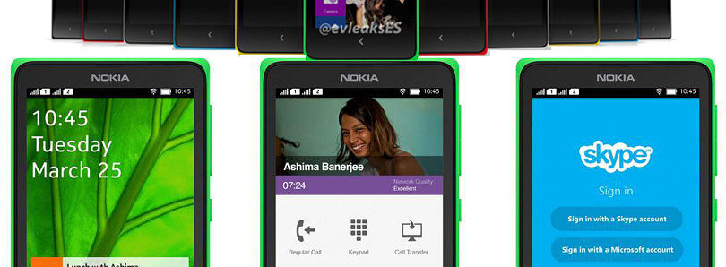 Android-Powered Nokia X (Normandy) to Launch at MWC Later this Month?